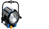 Arri True Blue ST2 2000w fresnel pole operated