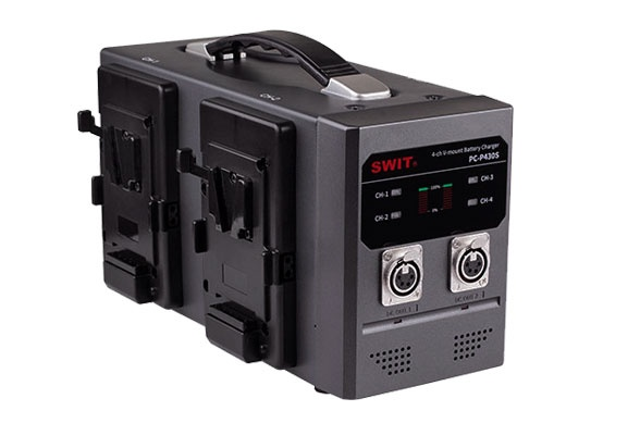 PC-P430S 4-ch V-mount Fast Charger