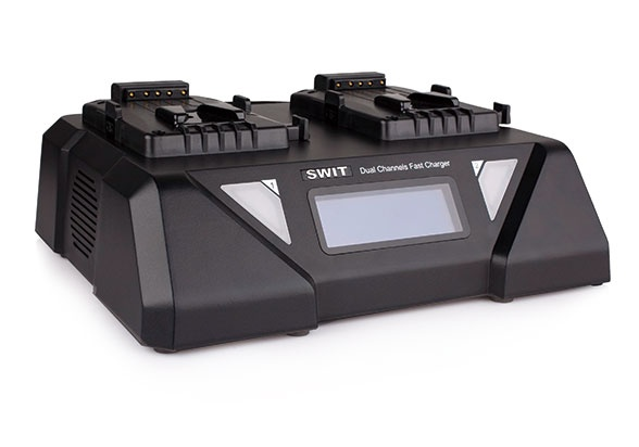 S-3812S Dual Channel Fast Charger