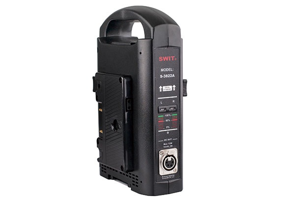 S-3822S 2-ch V-mount Fast Charger