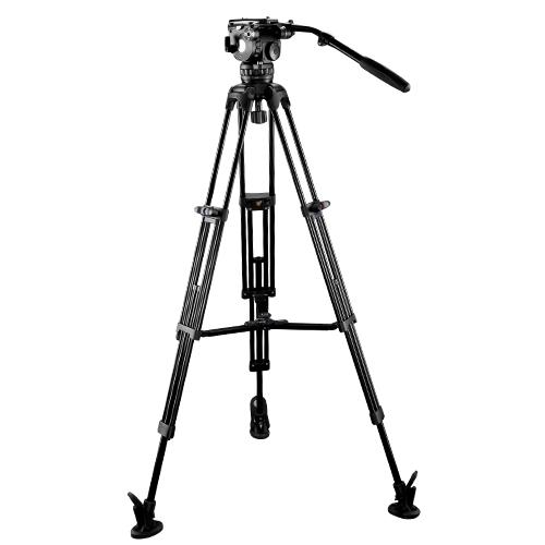 E-Image 2-Stage Aluminum Tripod Legs with GH10 Head