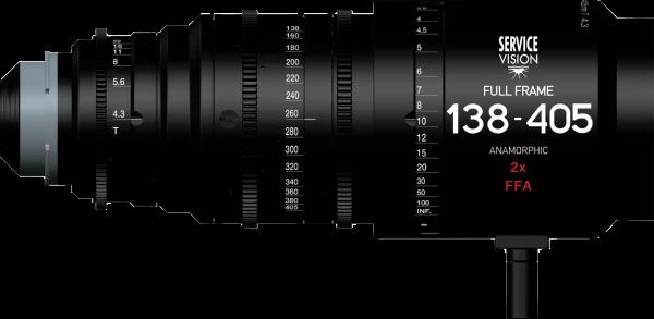 Scorpiozoom 138-405 T4.3 Anamorphic 2X